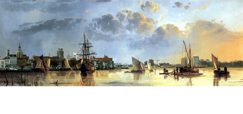 Gezicht op Dordrecht - Menno van der Weerd 830