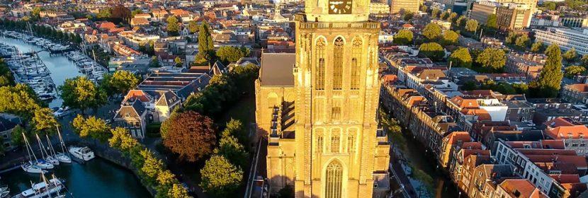 Grote Kerk Dordrecht (Drone)
