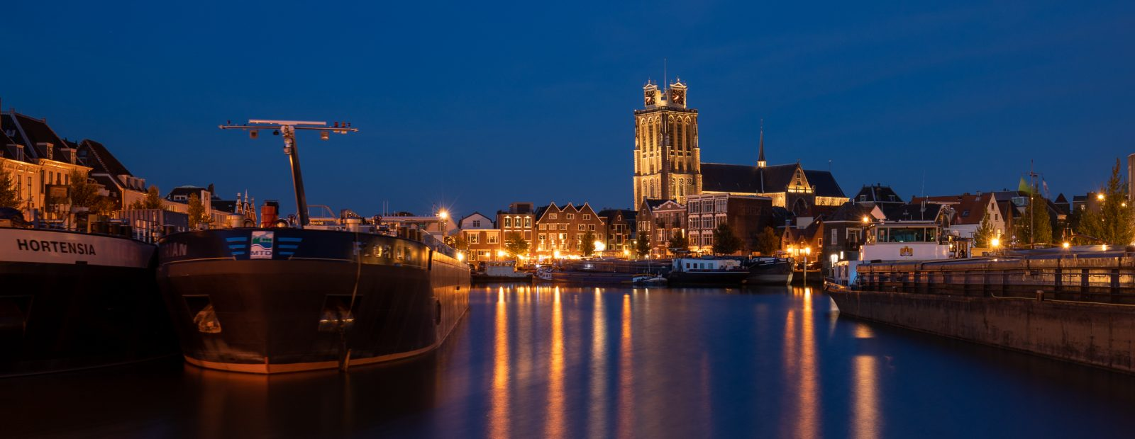 Panorama Grote Kerk Dordrecht